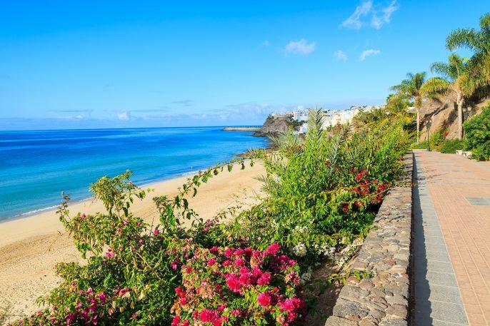 Strand in Gran Canaria