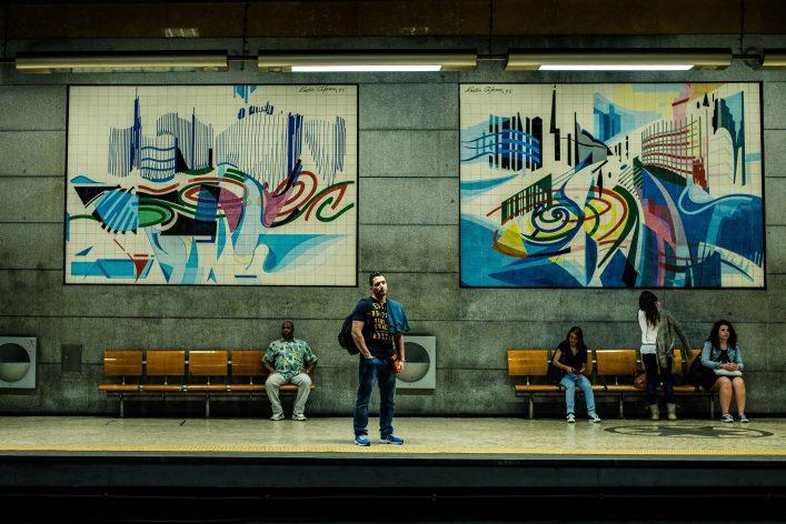 metro Lissabon kunst