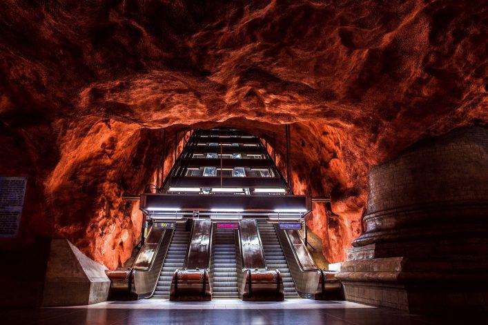 Metrostation Stockholm