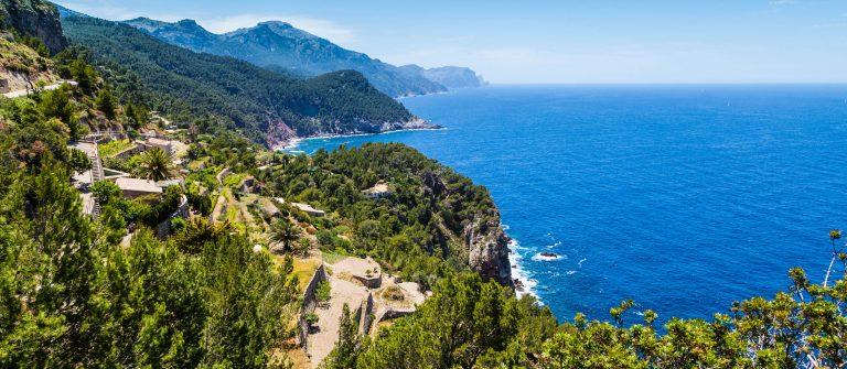 Het Tramontana gebergte op Mallorca