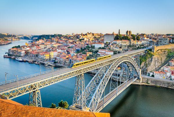 Brug in Porto