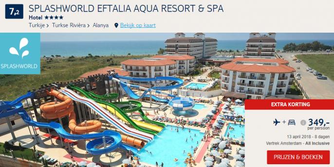 all inclusive vakantie Turkije strand