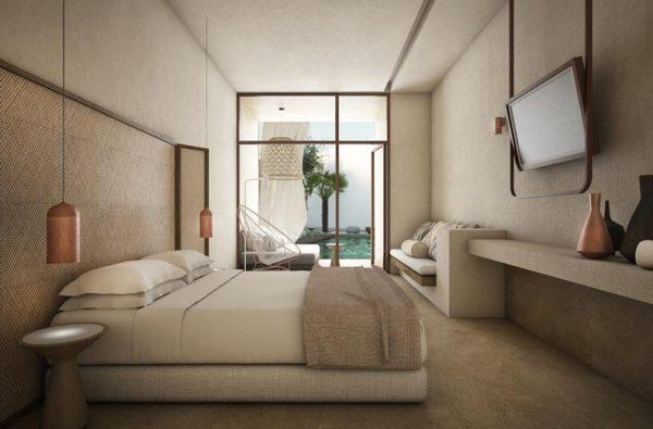 Kamer in het Cavo Vezal Hotel