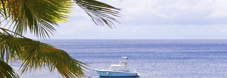 Prachtige zee op Curaçao