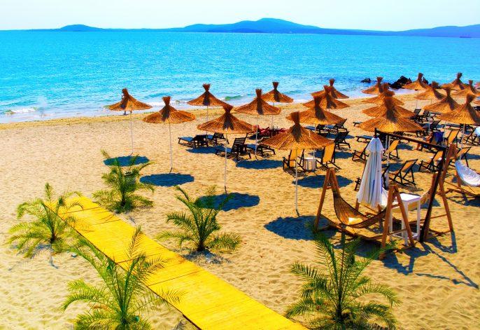 Sunny Beach aan de Zwarte Zee