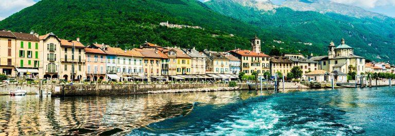 Lago Maggiore in Italië