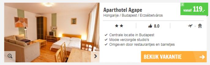 Screenshot Boedapest deal