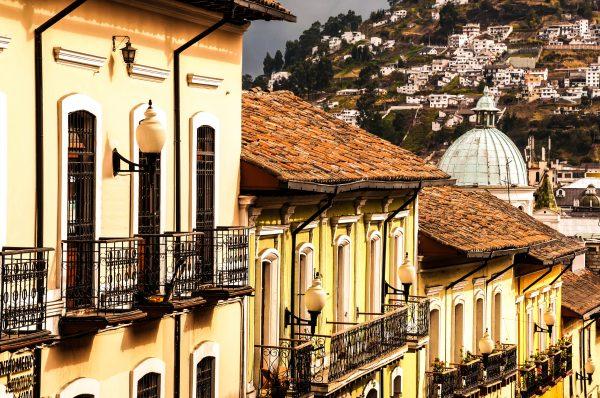 Koloniale gebouwen in Quito