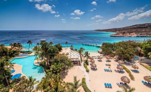 Het luxe Hilton Resort