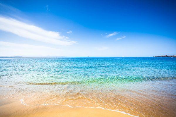 Prachtig strand op Lanzarote