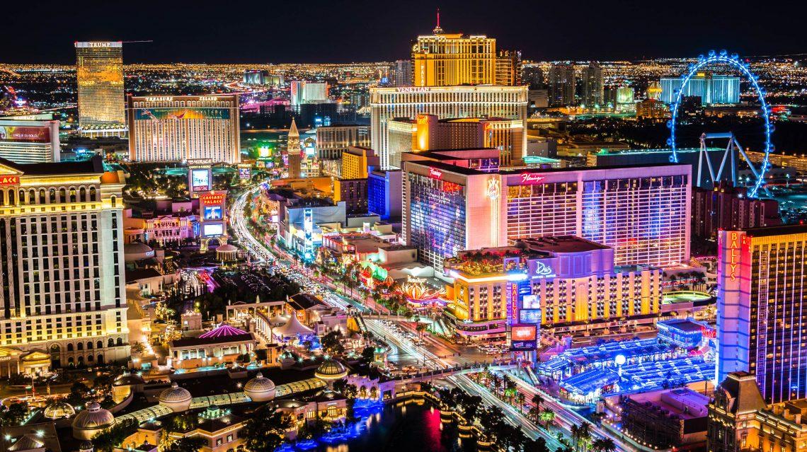 Las Vegas bij nacht
