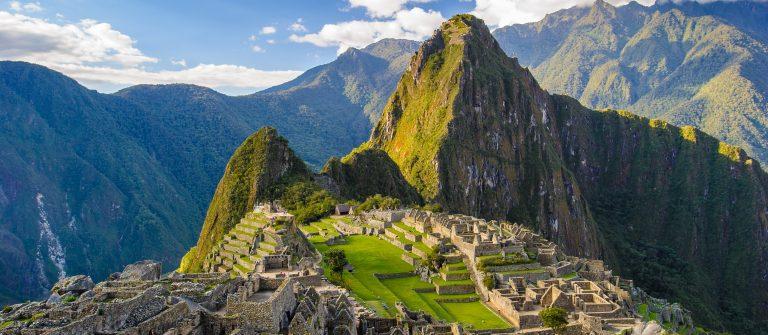 Uitzicht over Machu Picchu
