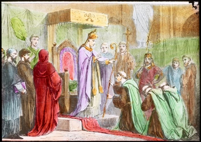 De Ierse bisschop St. Patrick