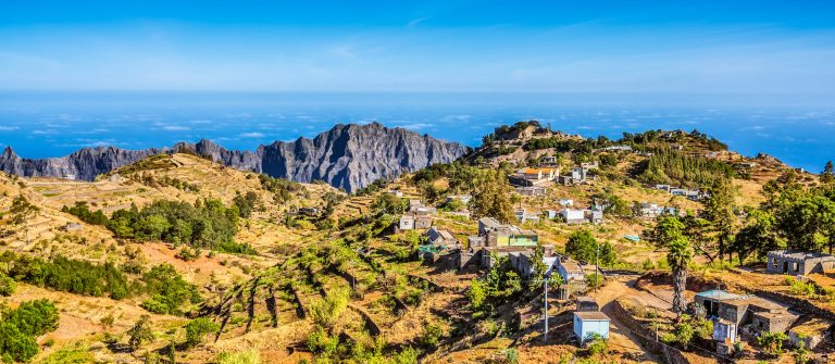 Santo Antao op Kaapverdie