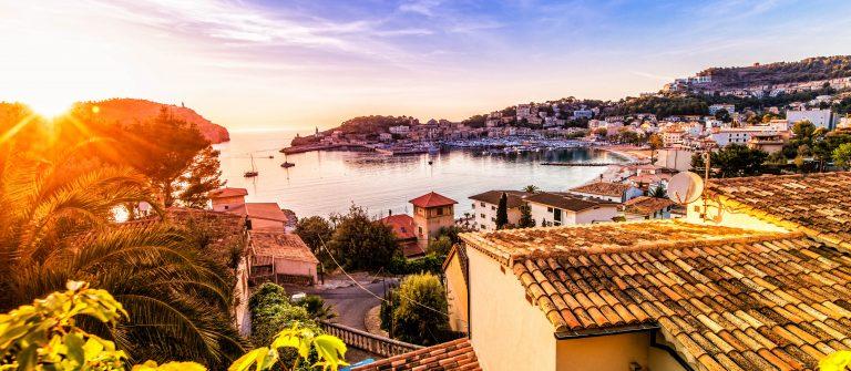 zonsondergang op Mallorca