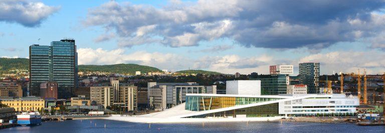 Opera huis in Oslo