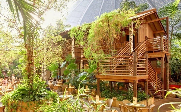 Tropical Islands paviljoen