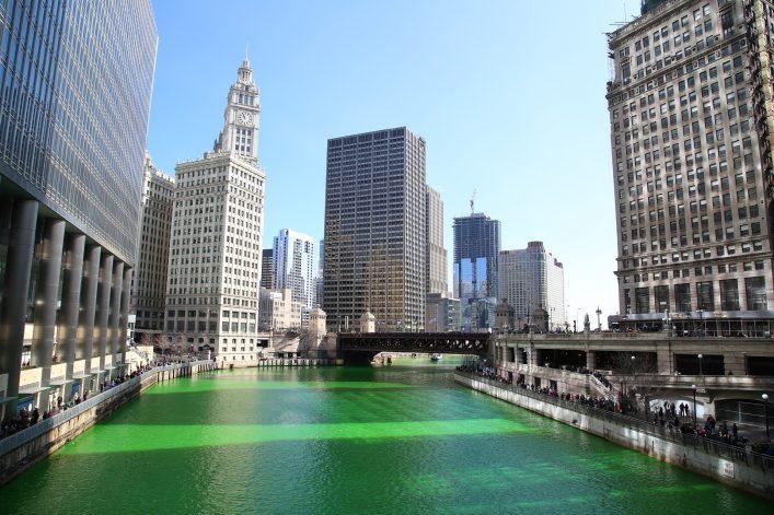 St. Patricks Day in Chicago