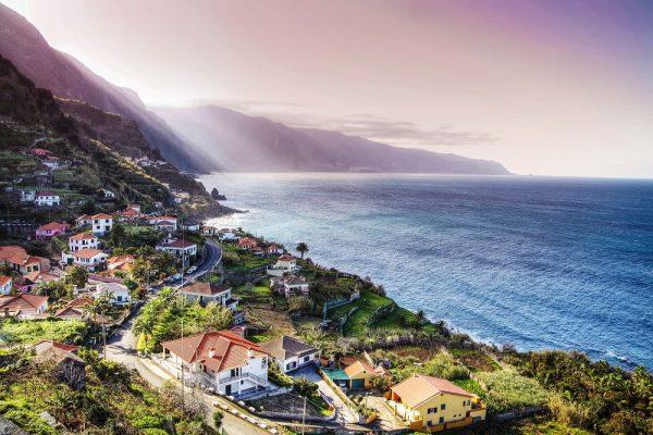 Kustlijn van Madeira