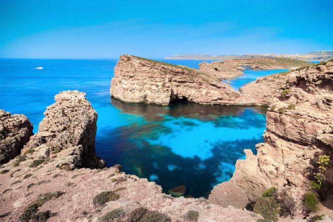 Rotsen op Malta