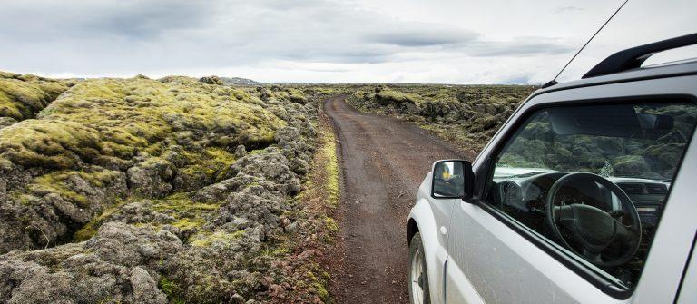 IJsland met een camper