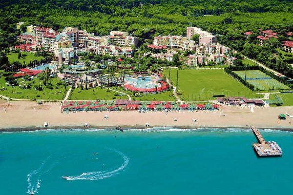 Het Limak Arcadia resort in Turkije