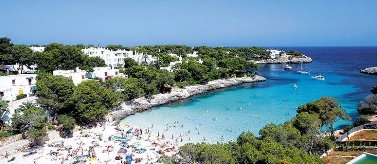 Baai op Mallorca