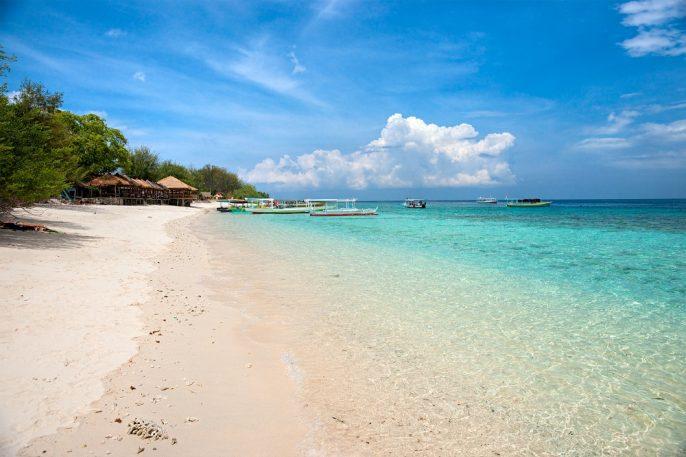 Het strand van Bali