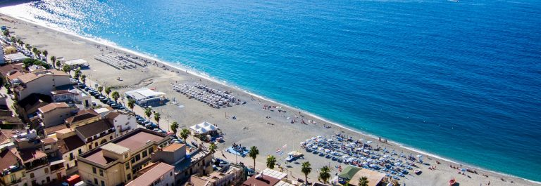 Strand op Sicilië