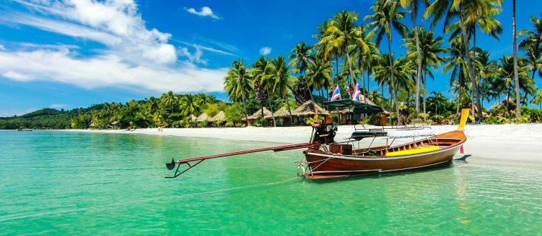 boot bij Koh Samui
