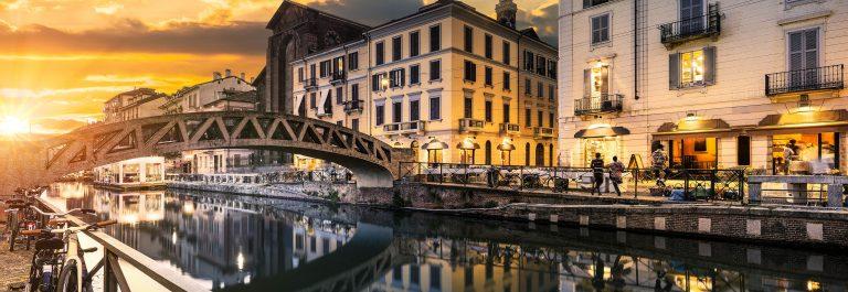 Avond in Milaan
