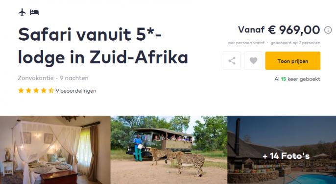 Screenshot Afrika deal