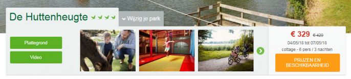 Screenshot Center Parcs
