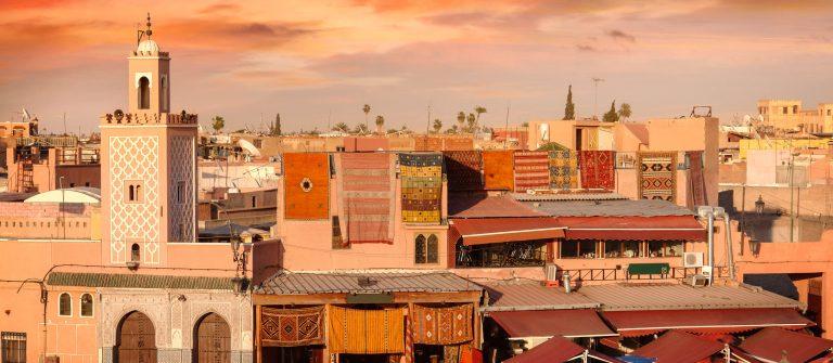 Djemaa el-Fna plein in Marrakesh