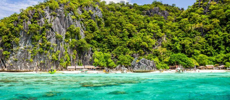Prachtige natuur van de Filipijnen