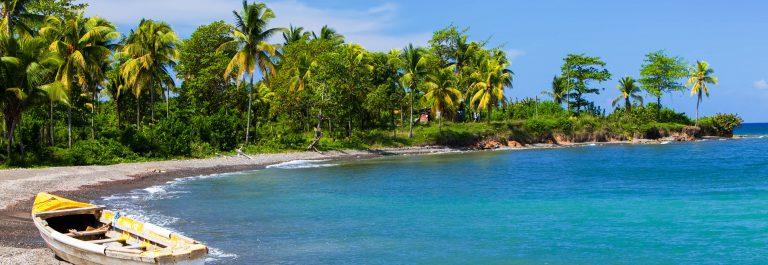 Strand op Jamaica