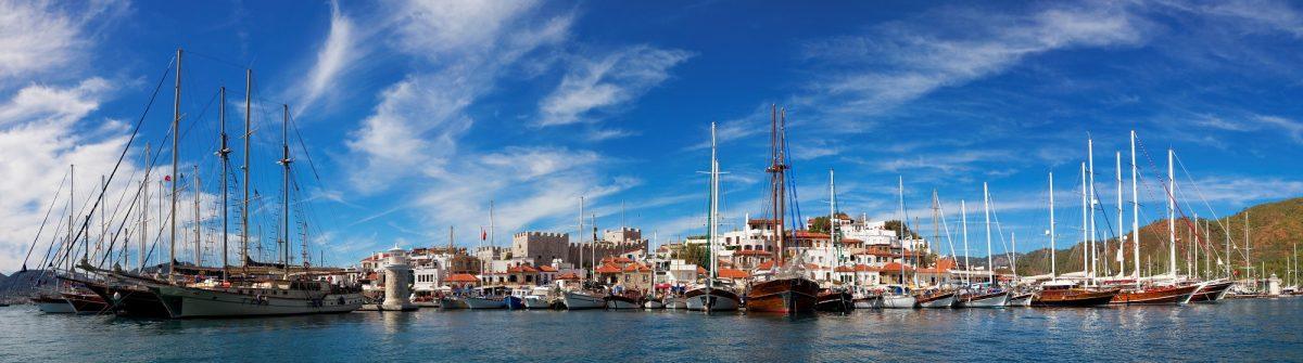 De haven van Marmaris