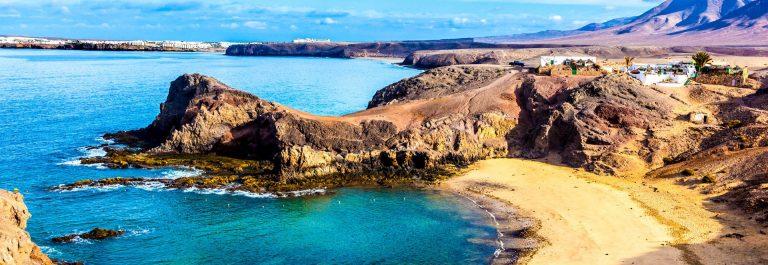 Playa de Papagayo op Lanzarote
