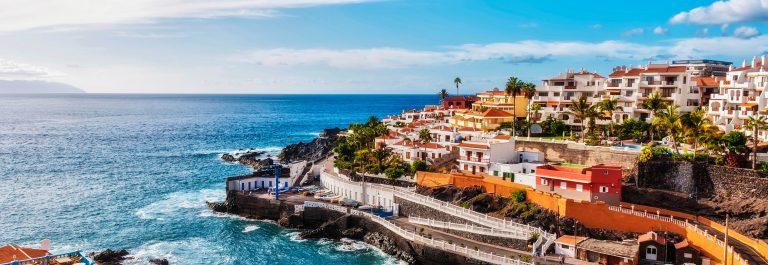 Puerto Santiago in Tenerife