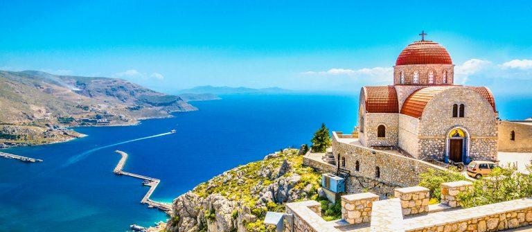 Kerk op Kos in Griekenland