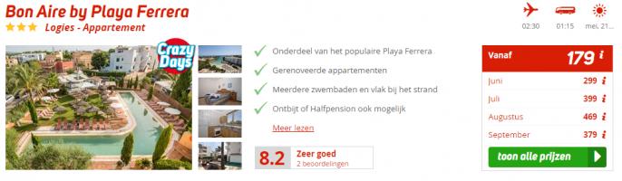 Screenshot Mallorca deal