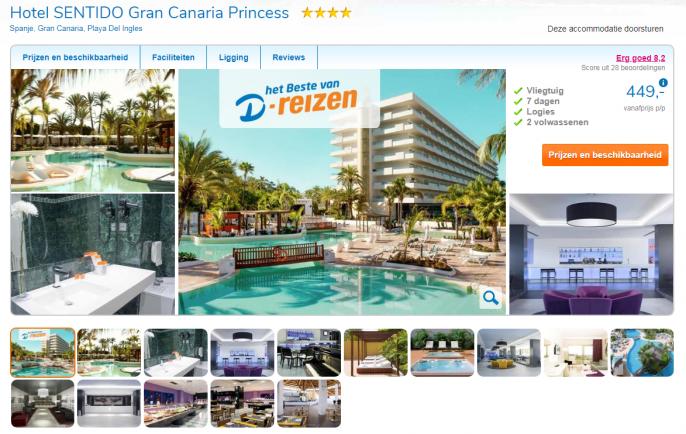 Screenshot Sentido Gran Canaria