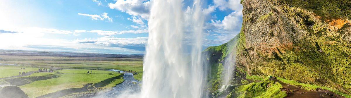 Seljalandsfoss waterval op IJsland