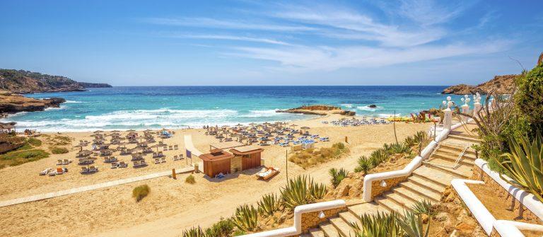 Strand en zee Ibiza