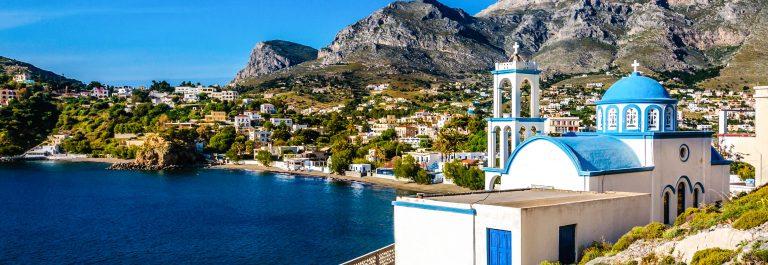 Kerk op het Griekse eiland Kos