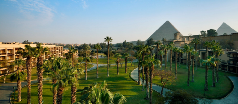 Marriott Mena House in Cairo