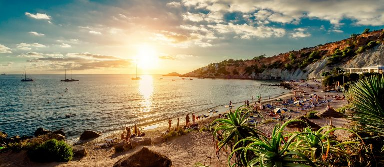 Strand op Ibiza