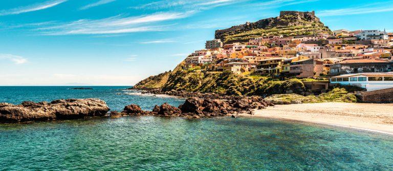 Strand Sardinië