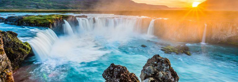 Waterval op IJsland