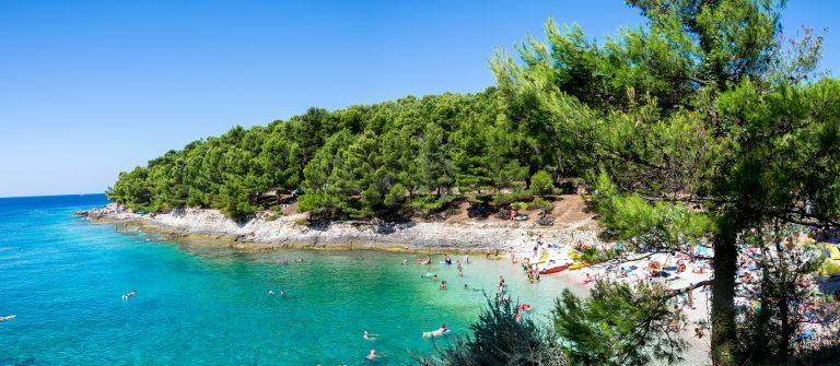 de kust van Istrie